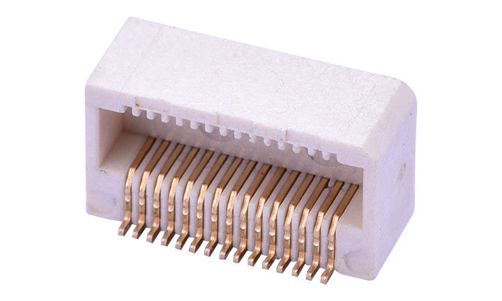 Thin Spaced Smt Board To Board Connector , Right Angle Board To Board Connector